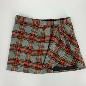 J.Crew Schoolgirl Plaid Skirt Size 10 Short Mini